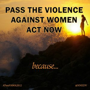 Violence Against Women Act – Reauthorization in Congress
